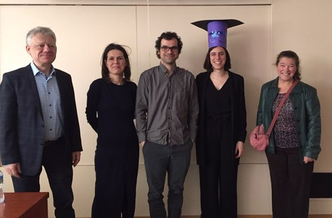 Maria Masoliver defended her PhD thesis